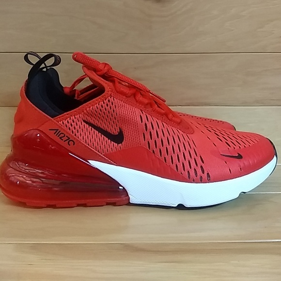 Nike Shoes Air Max 270 Size 85 Habanero Red Black White Poshmark